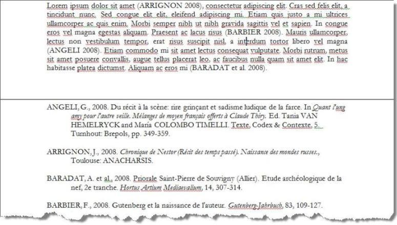 essay bibliography mhra
